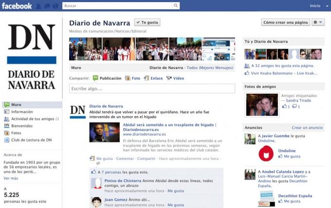 Social media de Diario de Navarra