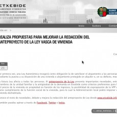 Social media de Gobierno Vasco