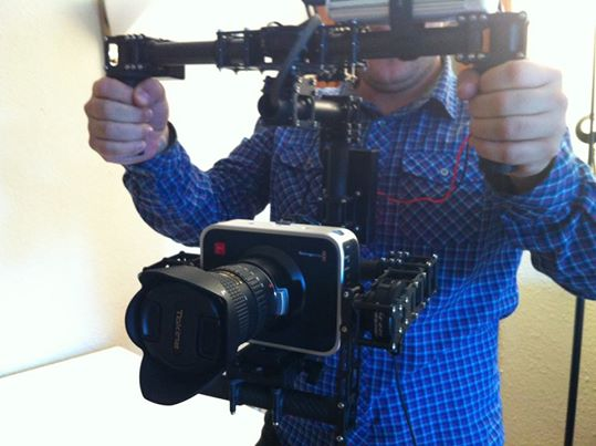 Gimbal para Blackmagic Cinema Camera